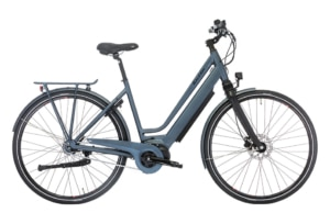 Raleigh Sussex E2 Dame 5 LED-disp. Nexus 7g Fod/Hydr. disc Mat grå