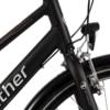 Winther Sprite Alu Dame Nexus 7g Fod/V-Bremse Dyn. forl Blank sort