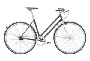 Raleigh Oxford 7 gear - 2017 - Damecykel - Grå