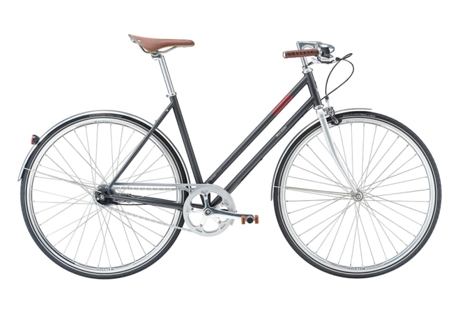 Raleigh Oxford 7 gear - 2017 - Damecykel - Grå
