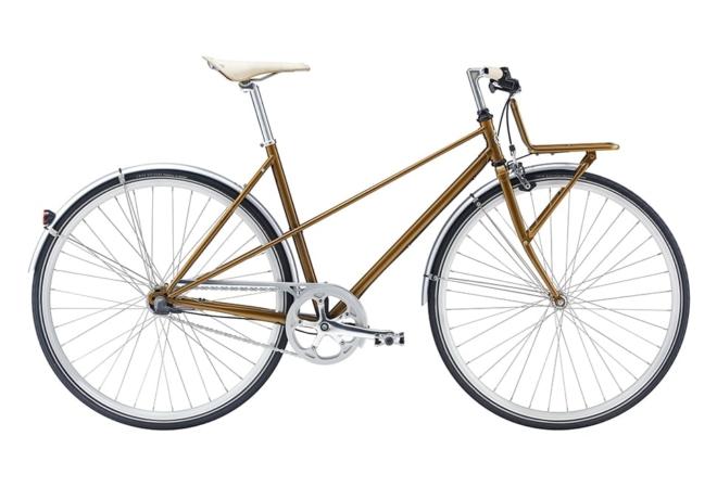 Winther Sport Cargo 7 gear - 2017 - damecykel - guld