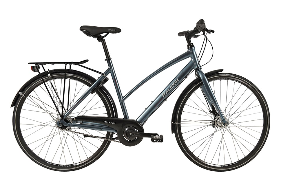 Raleigh City RL2 Dame Nexus 7g RB Blå/sølv