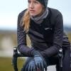 Women's Hurricane Vindtæt Vinterhandske - Sort