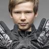 GripGrab Rebel Youngster Vindtæt Vinterhandske - Sort