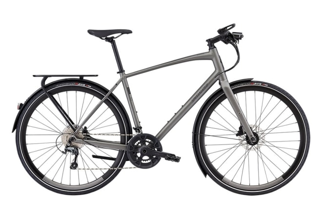 Specialized Sirrus Elite EQ - 2020 -Satin Sterling Grey/Black