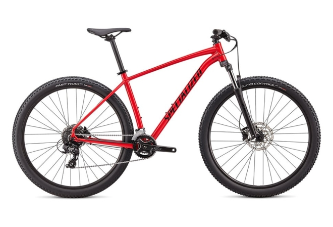 Specialized Rockhopper 16 gear - 2020 - Flo Red/Tarmac Black