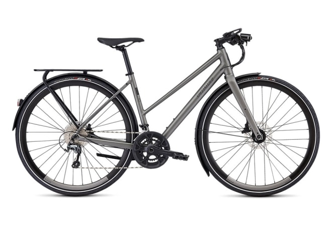 Specialized Sirrus Elite EQ - 2020 - Damecykel - Satin Sterling Grey/Black