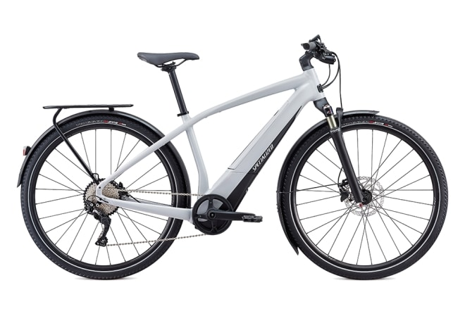 Specialized Turbo Vado 4.0 10 gear - 2020 - Dove Grey / Black / Liquid Silver