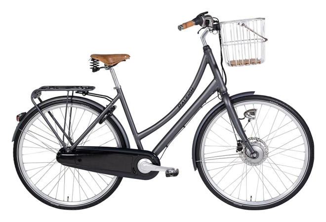 Raleigh Essex E Dame 5 LED-disp. Nexus 7g Fod/Hydr. disc Mat grå