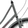 Raleigh Darlington Dame Nexus 3g Fod/V-bremse blank grå m. rød zoom