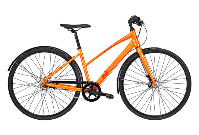 Nishiki Touring Master Dame Nexus 7sp RB Blank orange m. orange