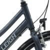 Raleigh Sprite Alu Dame Bend 7 gear fodbremse blank grå/rød