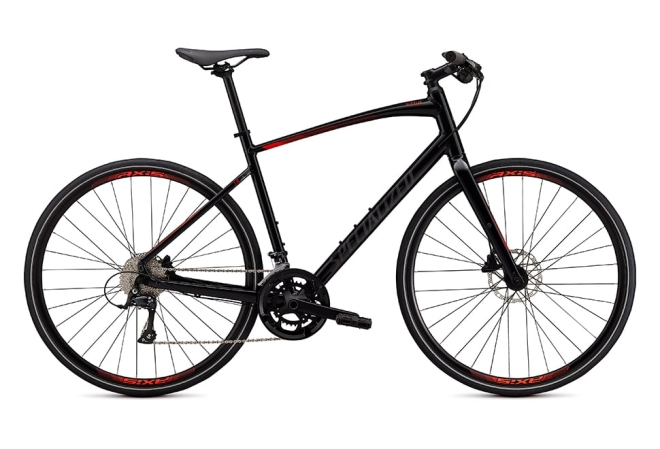 Specialized Sirrus 3.0 18 gear - 2020 - Herrecykel - Gloss Cast Black / Rocket Red / Satin Black Reflective