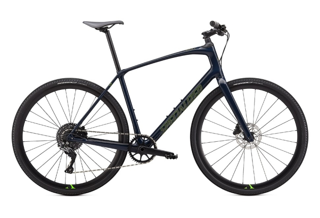 Specialized Sirrus X 5.0 11 gear - 2020 - Herecykel - Cast Blue / Hyper / Satin Black Reflective