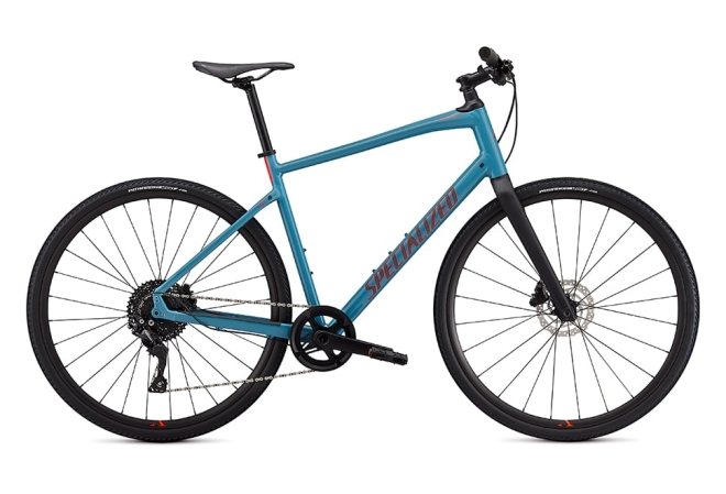 Specialized Sirrus X 4.0 10 gear - 2020 - Herrecykel - Storm Grey / Rocket Red / Satin Black Reflective