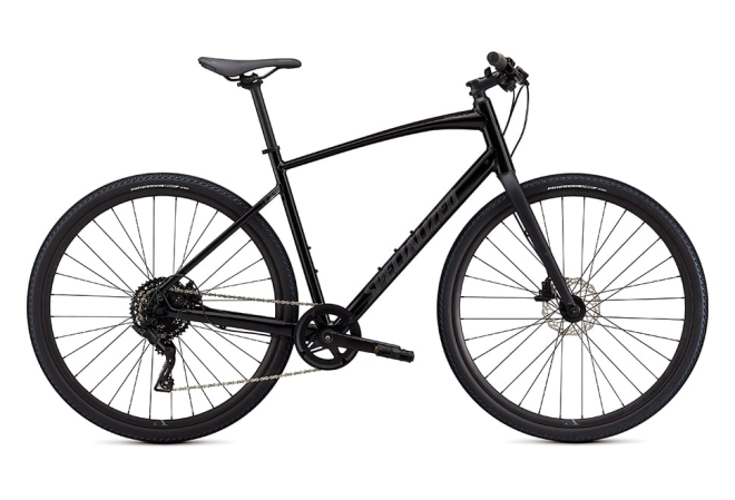 Specialized Sirrus X 2.0 8 gear - 2020 - Herecykel - Black / Satin Charcoal Reflective