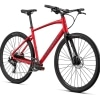 Specialized Sirrus X 2.0 8 gear - 2020 - Herecykel - Flo Red W/ Blue Ghost Pearl / Black / Satin Black