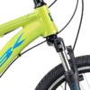 MBK Mud DNA Dreng m. affjedr. forgaffel Nexus 3 gear 20in mat grøn/blank blå