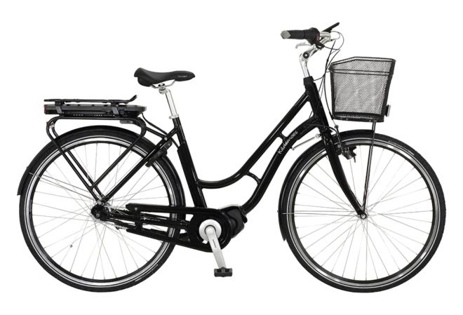 Kildemoes City Retro Steps 7 gear - 2020 - Dame elcykel I sort med centermotor