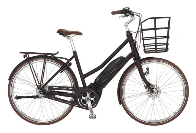 Kildemoes Urban Yamaha 7 gear - 2020 - Dame elcykel i sort/pink med centermotor