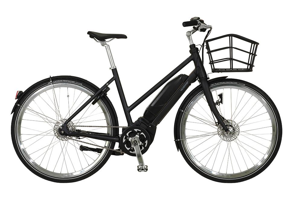 Kildemoes Chic Yamaha 7 gear - 2020 - Dame elcykel i sort med centermotor
