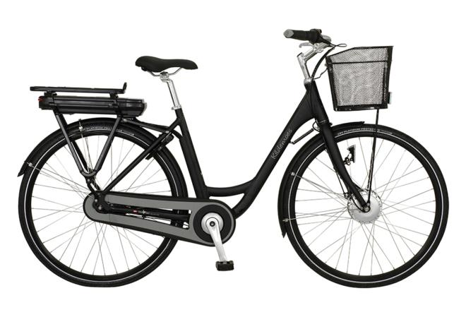 Kildemoes City Egoing 7 gear - 2020 - Dame elcykel i sort