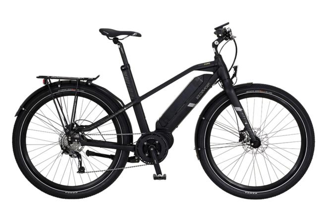 Kildemoes Hardcore 609 Egoing 9 gear - 2020 - Herre elcykel m. centermotor i sort