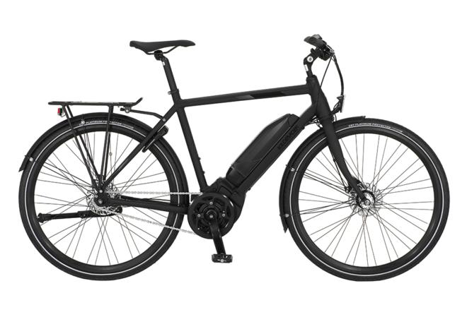 Kildemoes Street Yamaha 7 gear - 2020 - Herre elcykel i sort med centermotor