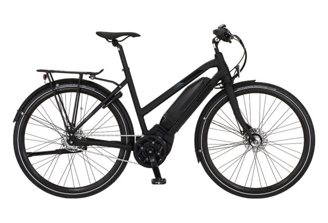 Kildemoes Street Yamaha 7 gear - 2020 - Dame elcykel i sort med centermotor