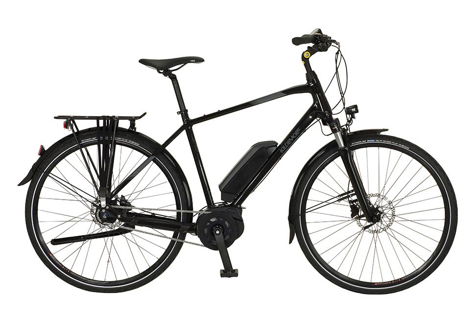 Kildemoes Street Bosch 7 gear - 2020 - Herre elcykel i sort med centermotor