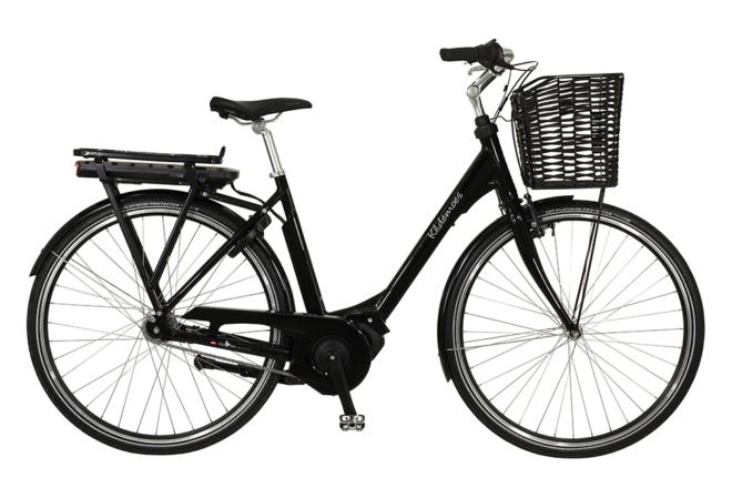 Kildemoes City Steps 7 gear - 2020 - Dame elcykel i sort med centermotor