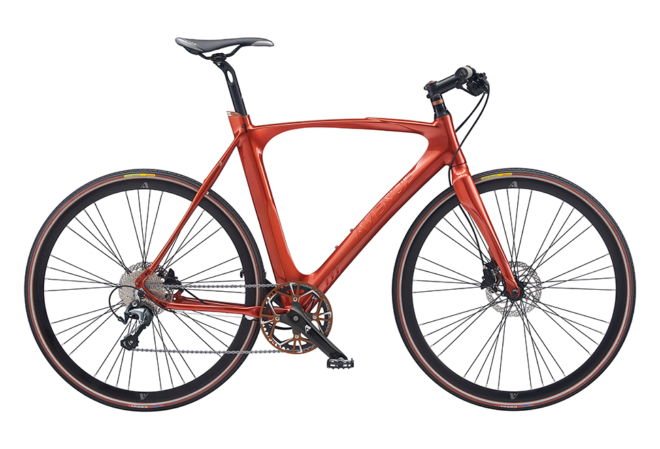 Avenue Airbase Gent. 10 speed Tiagra Hydr. Disc Shiny burnt red
