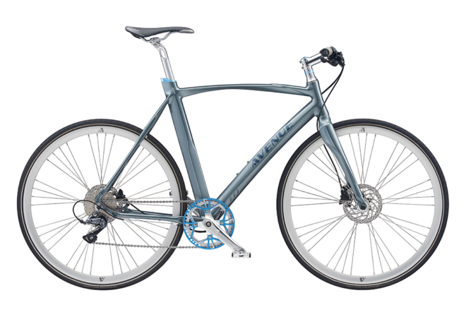 Avenue Airbase Spirit Gent. 8 speed Claris Hydr. Disc. Shiny dark silver