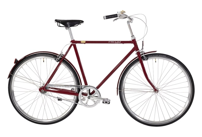 Bike by Gubi Herre bordeaux/French Bordeaux