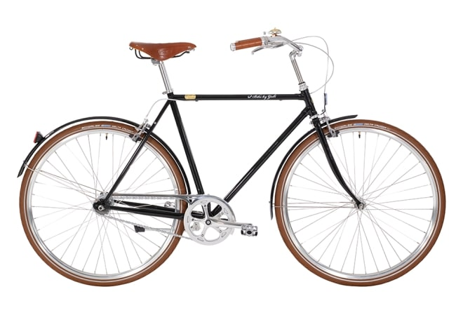 Bike by Gubi Herre sort/Piano Black