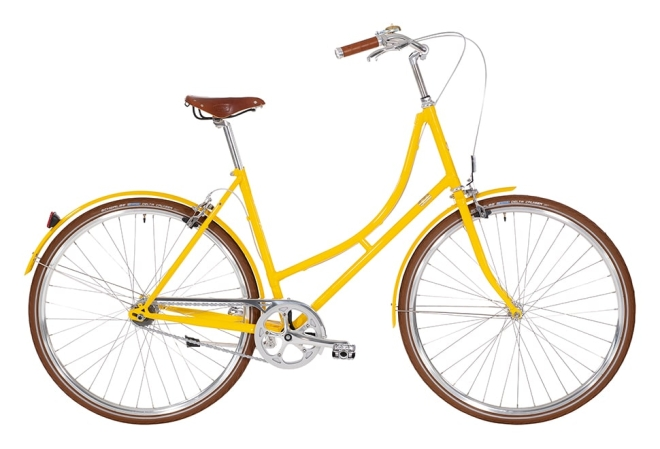 Bike by Gubi Dame Nexus gul/Yellow Sunshine