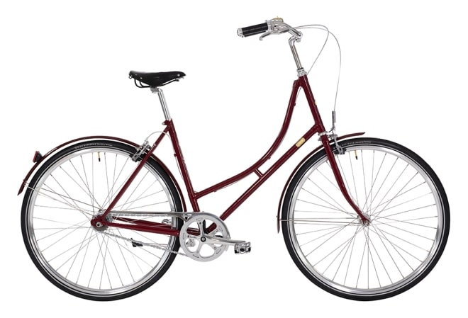 Bike by Gubi Dame Nexus bordeaux/French Bordeaux
