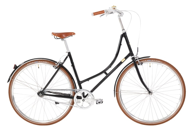 Bike by Gubi Dame Nexus sort/Piano Black