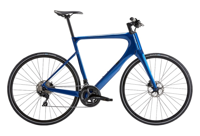 Avenue Empire Carbon Gent. Shimano 105 Disc. Shiny dark blue