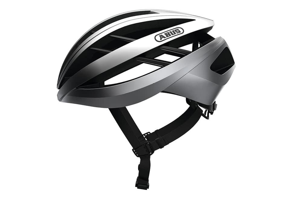ABUS Aventor cykelhjelm - Gleam Silver