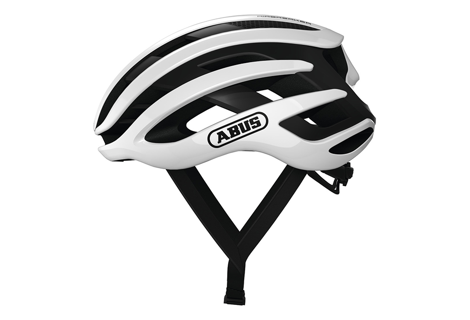ABUS AirBreaker cykelhjelm - Polar White