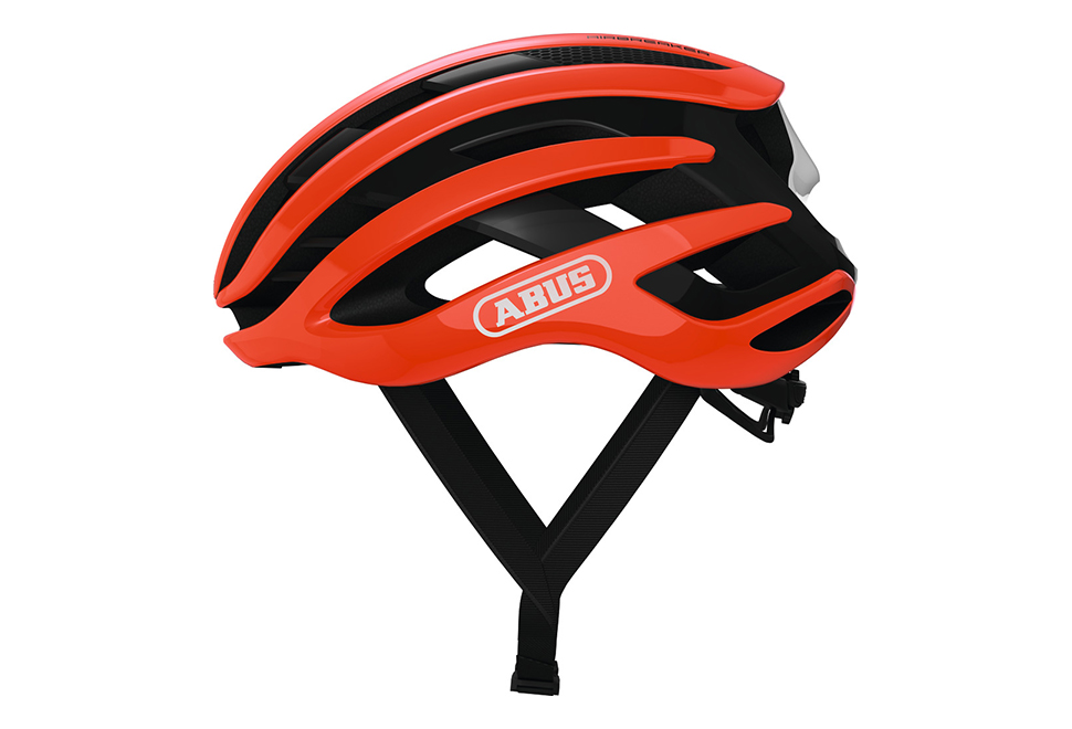 ABUS AirBreaker cykelhjelm - Shrimp Orange