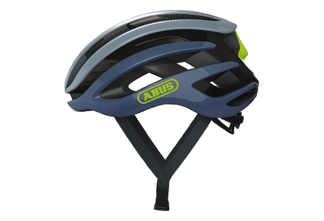 ABUS AirBreaker cykelhjelm - Light Grey