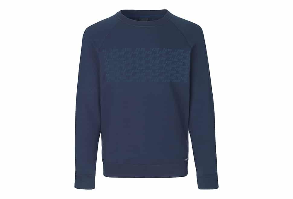 GripGrab Element sweatshirt - Økologisk bomuld - Navy