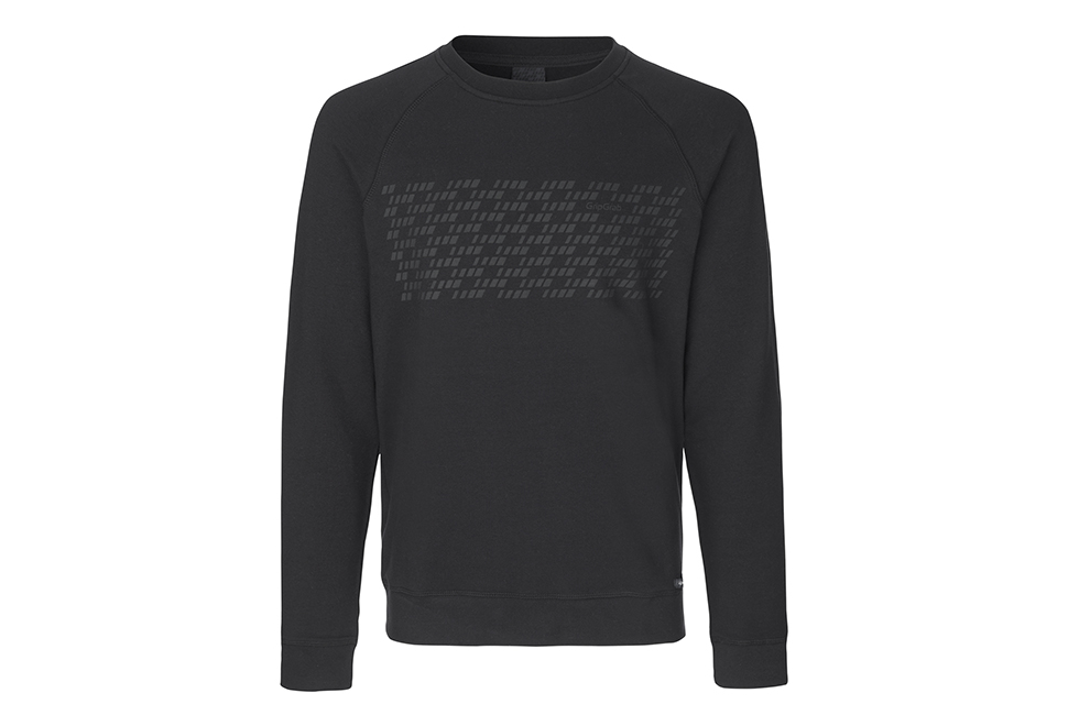 GripGrab Element sweatshirt - Økologisk bomuld - Sort