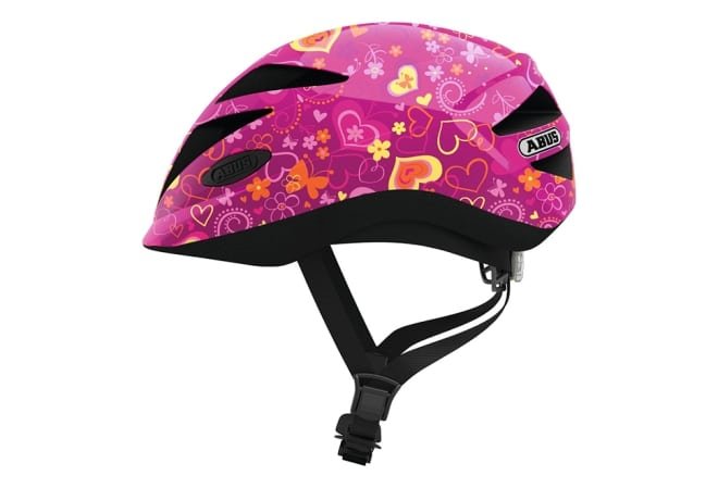 ABUS Hubble 1.1 cykelhjelm - Purple Flower