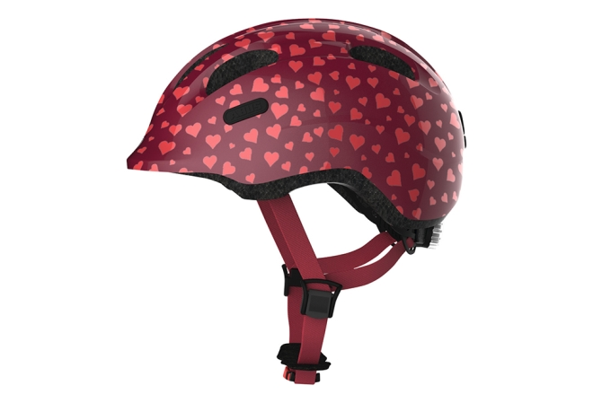 ABUS Smiley 2.0 cykelhjelm - Cherry Heart