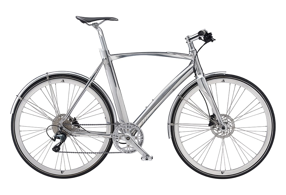 Avenue Airbase Metal Gent 10sp Tiagra Hydr. disc Polished silver