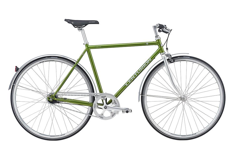 Centurion Helium Herre Nexus 7g fodbremse blank grøn m. sølv