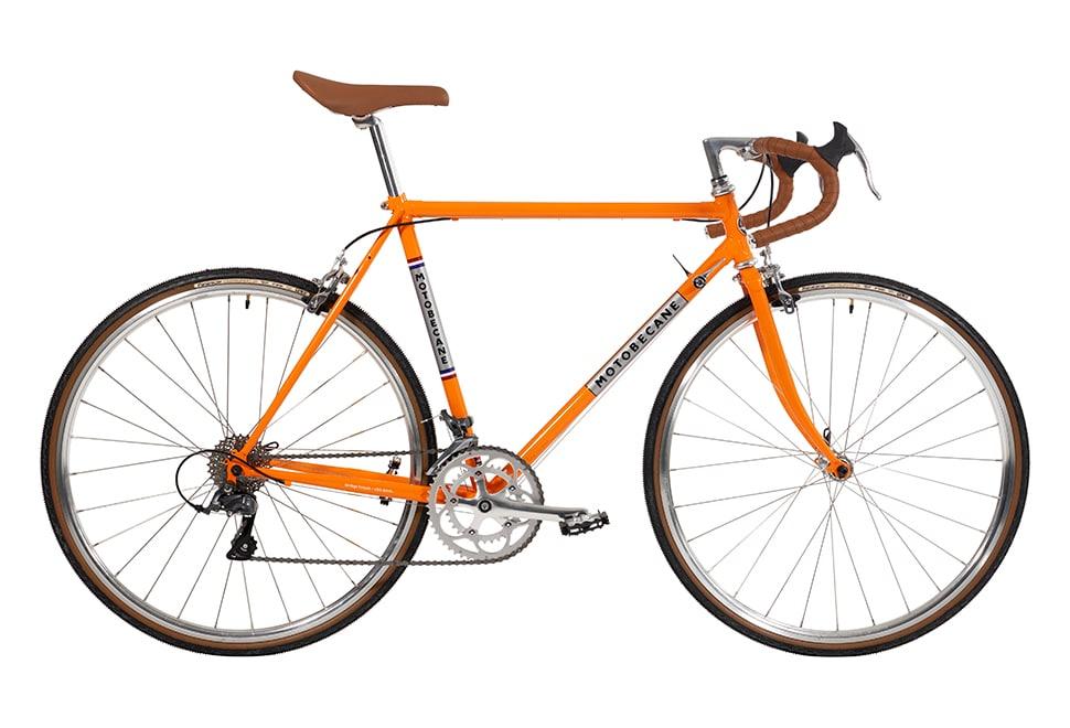 Motobecane Concept Team Champion Claris 16g 52cm blank orange m. sølv